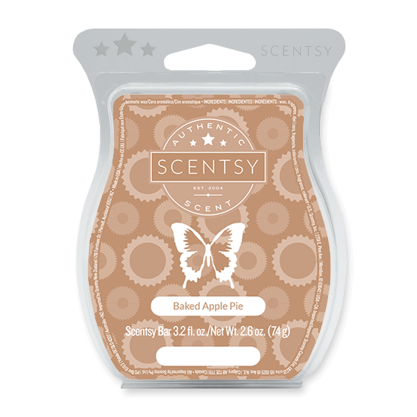 baked apple pie scentsy bar