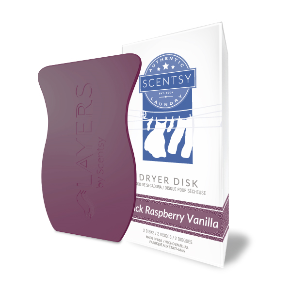 black raspberry vanilla scentsy dryer disks