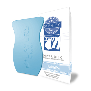 clothesline scentsy dryer disks