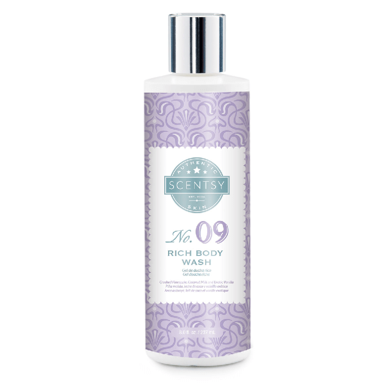 rich body scentsy wash no 9