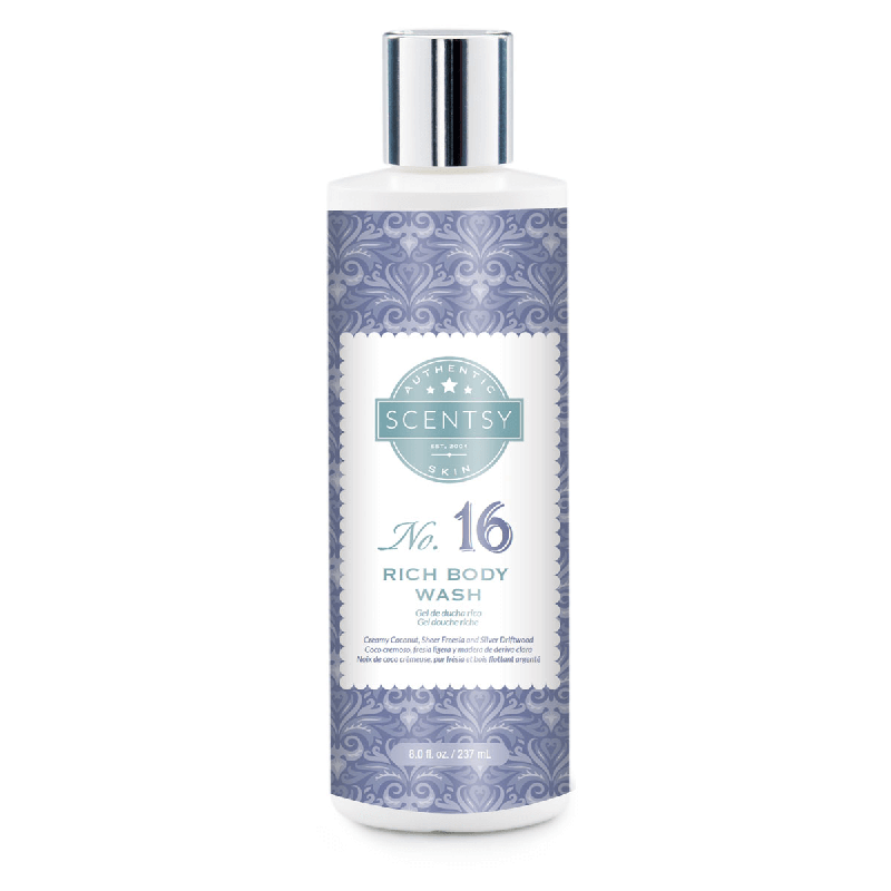 rich body scentsy wash no 16