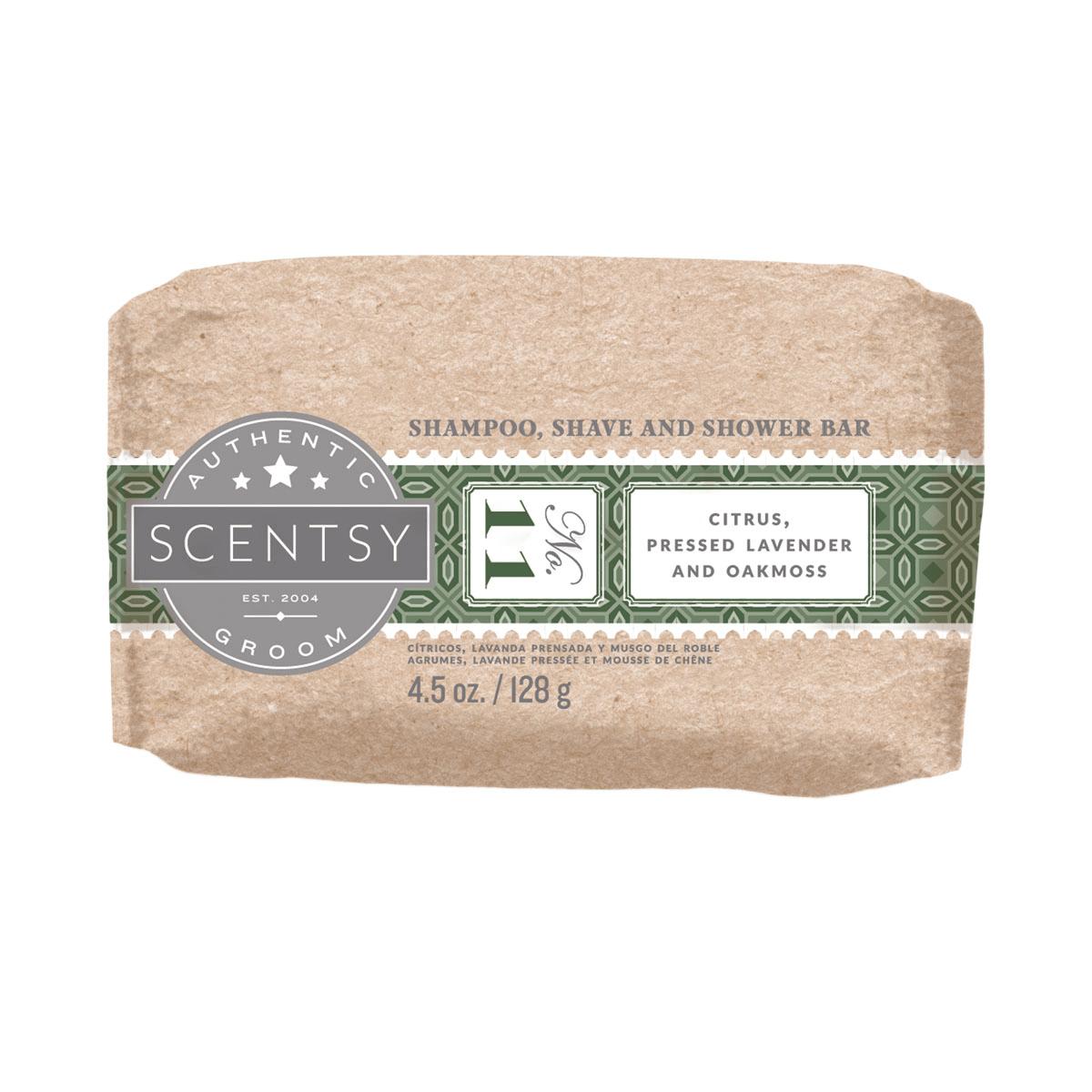 shampoo shave scentsy shower bar no 11