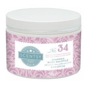 whipped scentsy body souffle no 34