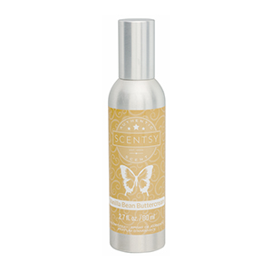 vanilla bean buttercream scentsy room spray